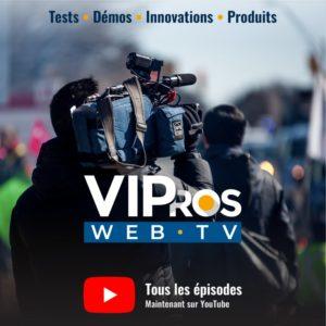 Toutes les vidéos de la VIPros TV sur YouTube