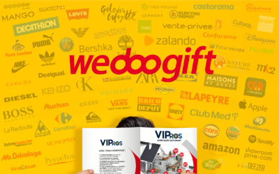 L'espace cadeaux VIPros évolue : avec Wedoogift, plus de choix, plus de liberté