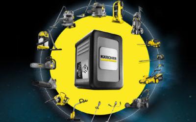 Kärcher lance 43 produits fonctionnant sur une même plateforme de batteries