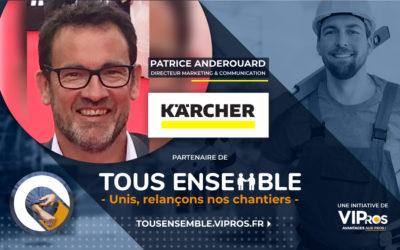 La réponse de Kärcher à la crise : interview de Patrice Anderouard, directeur Marketing & Communication