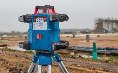 Bosch GRL 600 CHV Professional : le nouveau laser rotatif double pente qui mise sur l'endurance