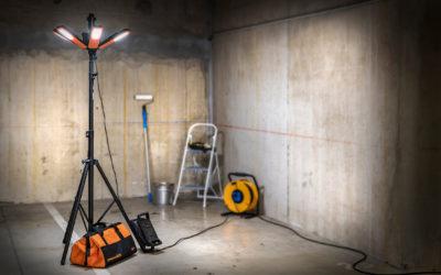 R17000 : l'éclairage à 360° avec le nouveau projecteur LED Brennenstuhl