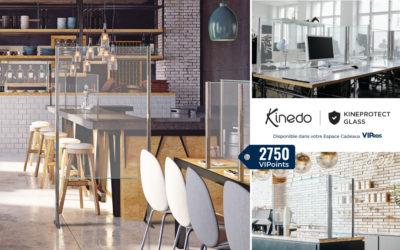 Kineprotect Glass : la gamme Kinedo pour la sécurité sanitaire arrive sur VIPros