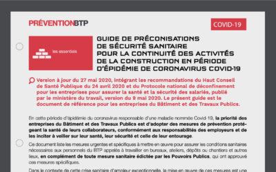Mise à jour du guide de l'OPPBTP : des recommandations plus légères pour les artisans