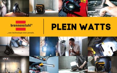 Plein Watts : une nouvelle campagne pour les projecteurs pro Brennenstuhl