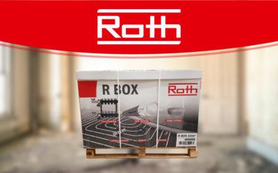 R Box : découvrez le plancher chauffant en boîte de Roth