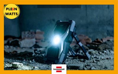 À la découverte de Rufus, le nouveau projecteur LED portable de Brennenstuhl | Plein Watts