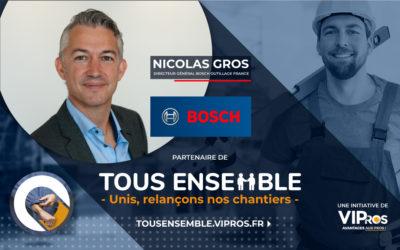 Bosch et l'importance de VIPros et de Tous Ensemble | Interview de Nicolas Gros