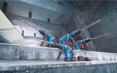 Nouveaux perforateurs BITURBO Bosch : un concentré de puissance, avec un poids réduit !