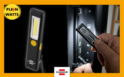 PL 200 A : la lampe de poche rechargeable pour toutes les situations | Plein Watts
