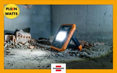 X-SERIE : les nouveaux projecteurs pro made in Brennenstuhl | Plein Watts