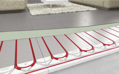 Panel R : le plancher chauffant rafraîchissant à faible inertie de Roth