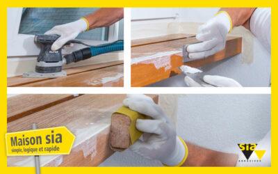 Réussir le masticage et la mise en peinture de structures en bois | Maison sia