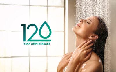 hansgrohe fête ses 120 ans : une promo exclusive et des centaines de cadeaux !